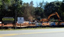 Construction continues on Holt's Dollar General.