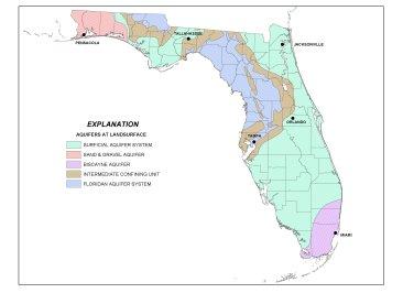 FLORIDA AQUIFERS MAP1