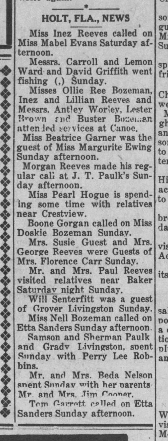 The Florala News, Jun 22, 1922
