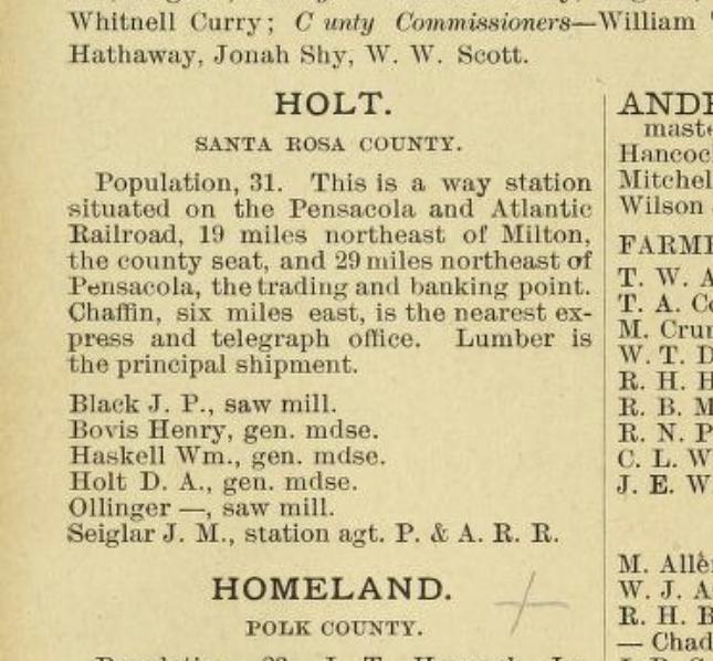 1886Gazetteer-Holt