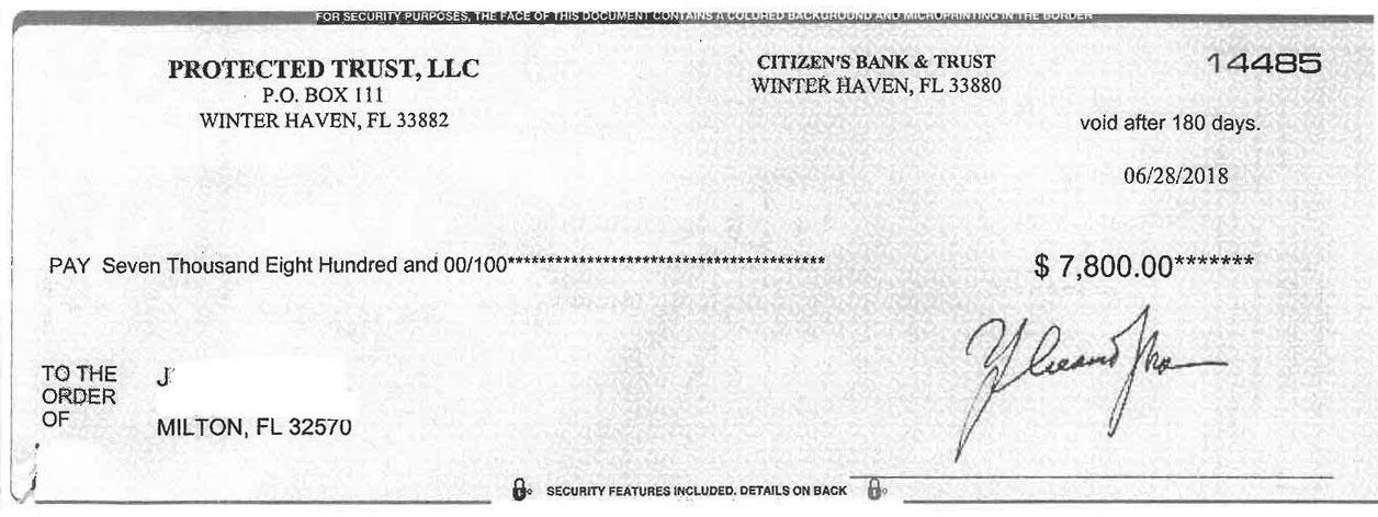 Publishers Clearing House scam hits Milton | Holt Enterprise News