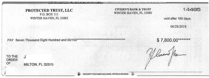 Publishers Clearing House scam hits Milton | Holt Enterprise News